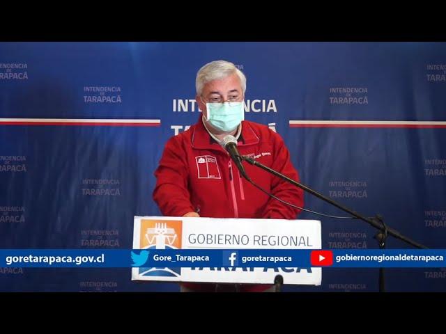 Punto de prensa 30 de agosto de 2020 - Gobierno Regional de Tarapacá