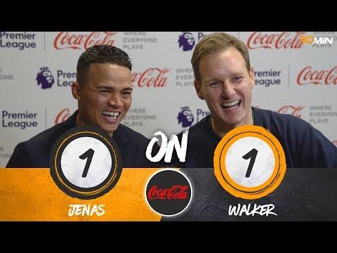 Does Jermaine Jenas know Dan Walker's BIGGEST NIGHTMARE on LIVE TV!? | Jenas vs Walker | Coca Cola