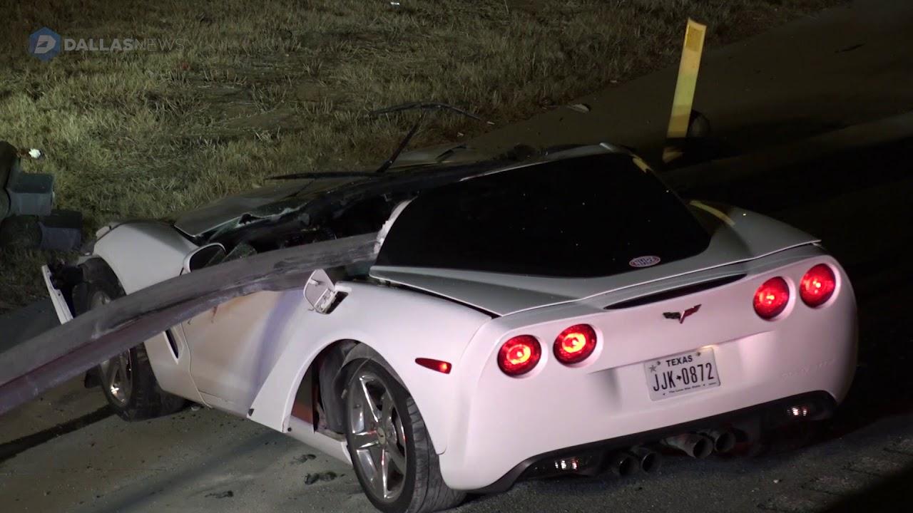 Corvettes Of Dallas >> Accident A Guardrail Pierces The Cockpit Of A C6 Corvette