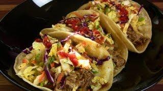 Crock Pot Recipe #2: Teriyaki Tacos (cooking With Carolyn)