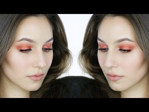 Blown-Out Orange Eye Makeup Tutorial