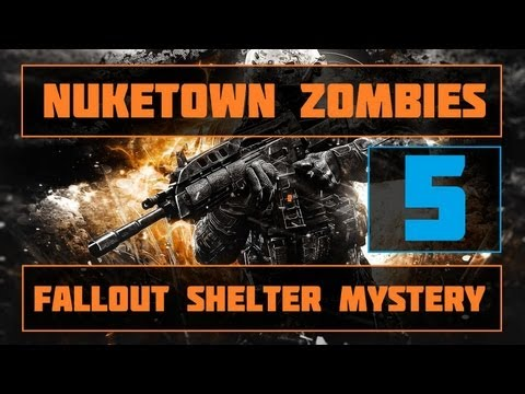 Black Ops 2 Zombies | Nuketown Fallout Shelter Easter Egg | Part 5!