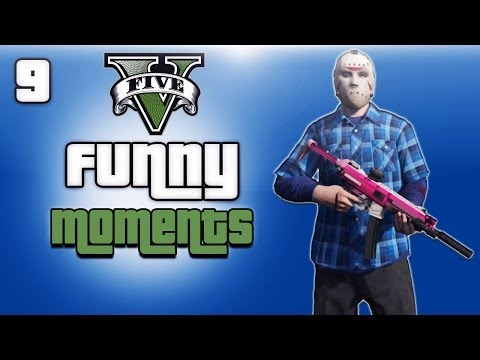 GTA 5 Online Funny Moments Ep. 9 (Corpse...