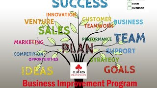Club Red presents the 'Business Improvement Group' program