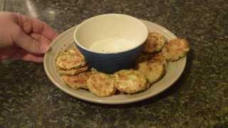 Genny Cooks Zucchini Chips