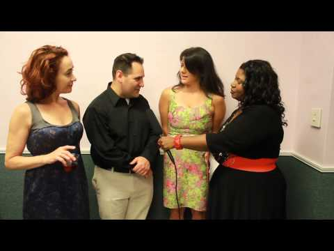 Pearl Hale interviews the playwright of Brattleboro in the Strawberry One-Act Festival