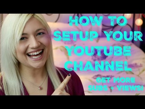 How to Setup Your YouTube Channel - Homepage Customization, Playlists, & More!