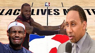Stephen A Smith DISMANTLES Lebron James as the GOAT again over Michael Jordan in SAVAGE ATTACK!