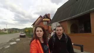 Приключения маленькой  веселой компании в Карпатах.(В видео можно увидеть Яремче и тропы вокруг него, Микуличин, гору Хомяк и водопад Гук. Май, 2016., 2016-08-22T21:44:11.000Z)