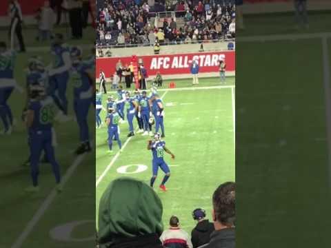 Odell Beckham Jr Dancing at the 2017 NFL Pro Bowl