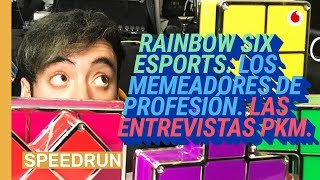 Speedrun 25/01: Novedades en Rainbow Six y el especialista de memes