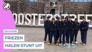 Friezen vervangen I Amsterdam letters voor I Oosterstreek