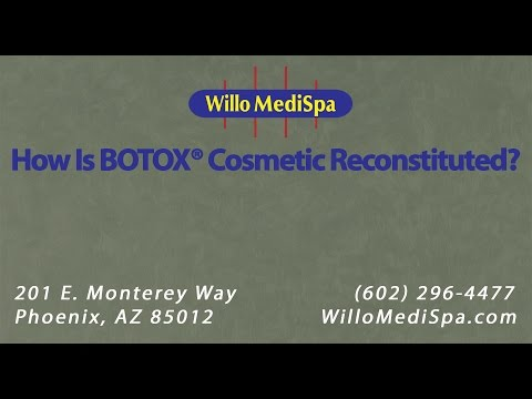 How Is Botox® Cosmetic Reconstituted? | Willo MediSpa