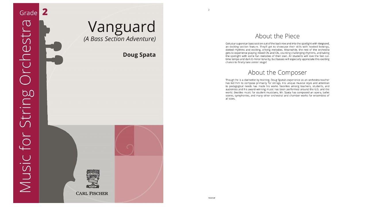 Download Vanguard (YAS205) by Doug Spata
