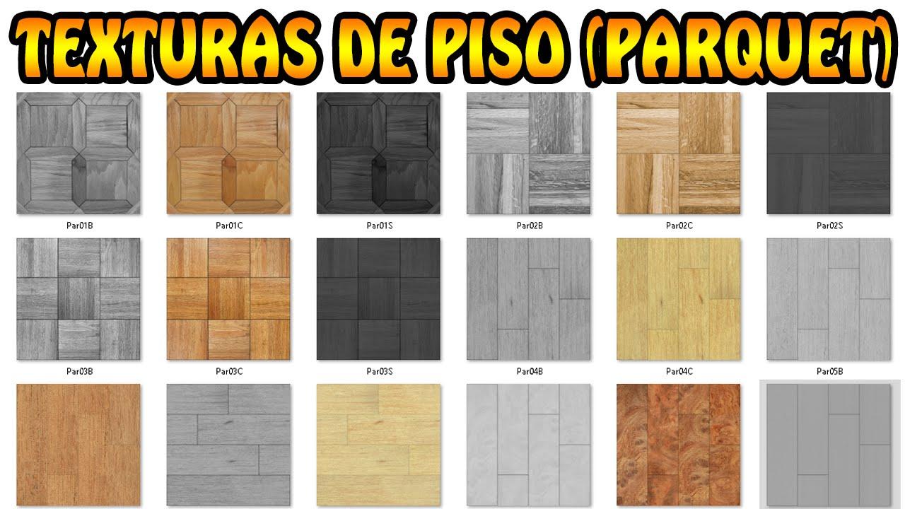 Texturas de piso parquet descarga pack mega youtube - Como reparar un piso de parquet levantado ...