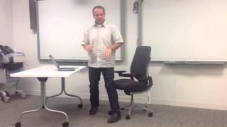 Toronto Steelcase Gesture Chair Sales Presentation Mayhew