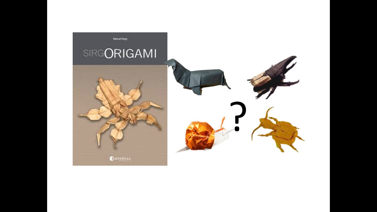 Which Manuel Sirgo Model Do You Pick JMs Origami Tutorials