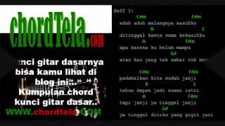 WALI  - Ditinggal Kawin + (Lirik dan Kunci Gitar)