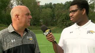 Towson Women's Soccer Post Game Interview With Head Coach Greg Paynter Following Win Over UNCW