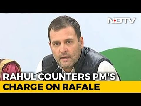"""Chowkidaar Is Chor, Hence Proved"": Rahul Gandhi's Rafale Retort To PM"