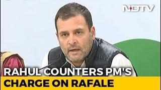 """""""Chowkidaar Is Chor, Hence Proved"""": Rahul Gandhi's Rafale Retort To PM"""