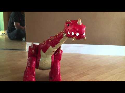 Fisher Price Imaginext Spike The Ultra Dinosaur Red For Sale