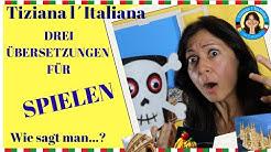 """Wie sagt man """"spielen"""" auf Italienisch? Es gibt drei Wörter dafür! Lerne sie mit diesem Video"""