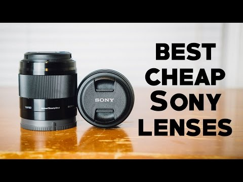 BEST BUDGET LENSES FOR SONY A6000