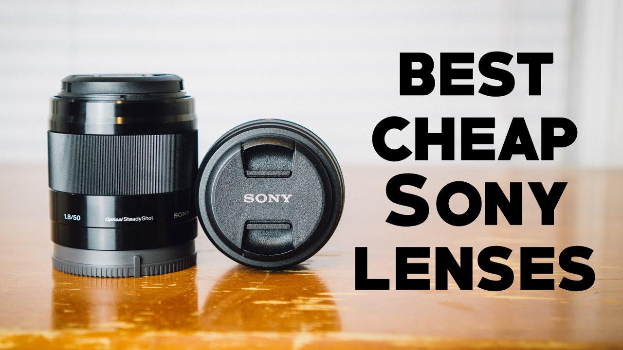 Best Budget Lenses For Sony A6000 Youtube Lens Cap 3rd 55mm