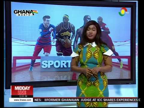 NANA OF #GMB2017 FAME PRESENTING SPORTS NEWS ON WOMEN'S DAY