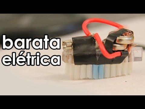 Como fazer um motor elétrico com um imã (experiência de