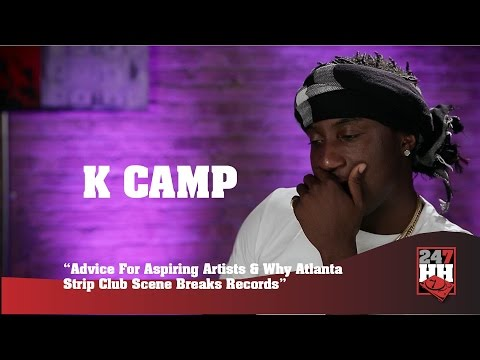 K Camp - Best Advice I Can Share With Aspiring Artists (247HH Exclusive)
