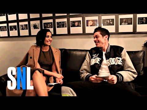 Two-Way Q&A: Demi Lovato and Pete Davidson