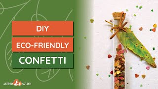 Sprinkle Eco-friendly confetti this Valentine's Day