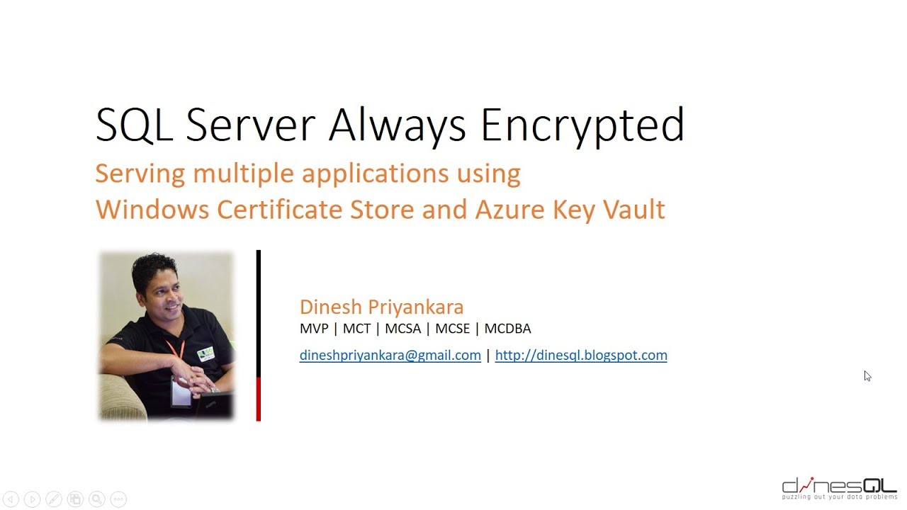 Sql server always encrypted serving applications using azure key sql server always encrypted serving applications using azure key vault and certificate store 1betcityfo Image collections