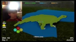 Roblox | Ich bin ein Dinosaurier?!?! ( Dinosaurier-Simulator )