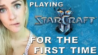 Playing Starcraft 2 for the first time