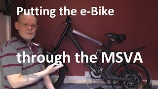 Insane DIY eBike build part 17 - Putting an e-Bike through the MSVA test