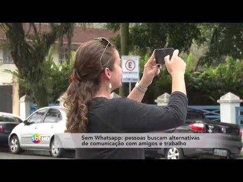 Sem Whatsapp: pessoas buscam alternativas de comunicação com amigos e trabalho
