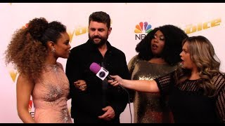 Kyla Jade, Pryor Baird, Spensha Baker | Team Blake Shelton | The Voice Red Carpet Season 14