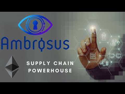 Ambrosus In A Nutshell | The Food And Medicine Supply Chain Cryptocurrency