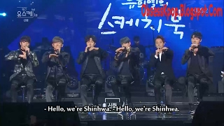 170122 Shinhwa interview CUT on Yoo Hee-yeol's Sketchbook Original ...