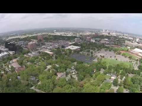Drone Nashville - Vanderbilt University and South Nashville