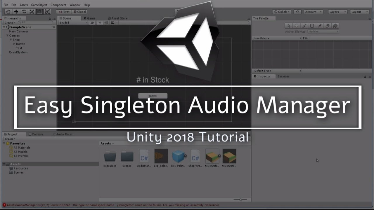 Easy Singleton Audio Manager Setup | Part 1 · Your Guide to Free