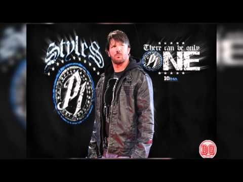 AJ Styles 16th TNA Theme Song  Evil Ways Justice Mix V2 w *CUSTOM* Wallpaper HD