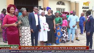 DEEPER LIFE WEDDING IN A GRAND STYLE THAT SHUT DOWN AGBOR