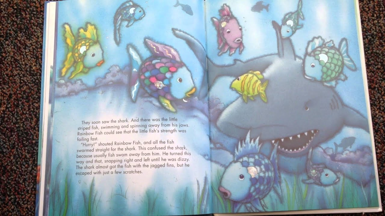 FREE! - The Rainbow Fish Story Sequencing Cards - Twinkl   720x1280