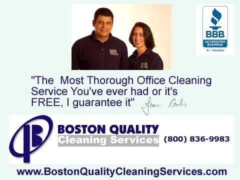 Boston Quality Cleaning Services