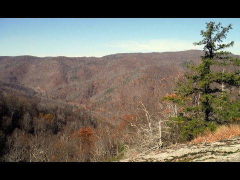 Hiking Crabtree Falls Near Montebello, Nelson County, Virginia