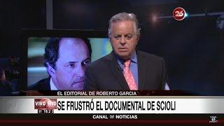"""Comentario editorial de Roberto García en su programa """"La mirada"""" - 07/11/16"""